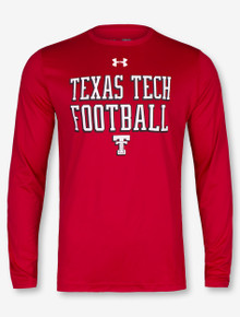 """Under Armour Texas Tech Red Raiders """"50 Yard Line"""" Charged Cotton Long Sleeve T-Shirt"""