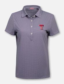 """RRO Signature Collection Texas Tech Double T """"Socialite"""" Women's Polo"""