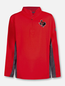 "Under Armour Texas Tech Red Raiders ""Siro"" YOUTH Pride 1/4 Zip Pullover"