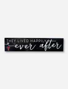 "Texas Tech Red Raiders ""Ever After"" with Double T Wall Decor"