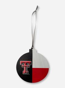 Texas Tech Red Raiders Double T Tech Flag Ornament