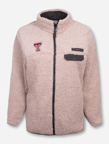 "Columbia Texas Tech Red Raiders ""Mountain Side"" Fleece Jacket"
