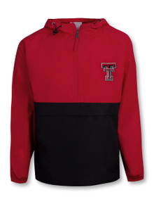 "Champion Texas Tech Red Raiders ""Walk On"" 1/4 Zip Pack and Go"