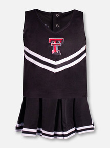 Texas Tech Red Raiders Texas Tech Double T TODDLER 3 Piece Cheerleading Set