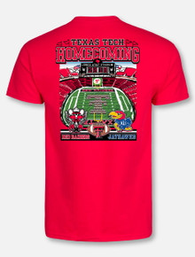 Texas Tech Red Raiders 2018 Homecoming Game Day Short Sleeve T-Shirt