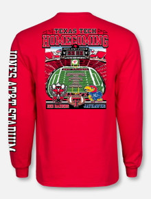 Texas Tech Red Raiders 2018 Homecoming Game Day Long Sleeve T-Shirt