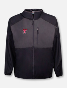 "Columbia Tech Red Raiders Double T ""Flash Forward"" Wind Breaker Jacket"