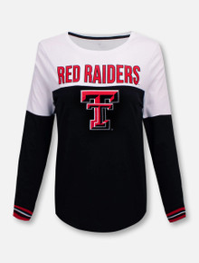 Texas Tech Red Raiders Charlotte Spiral Long Sleeve T-Shirt
