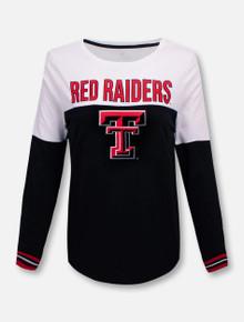 Texas Tech Red Raiders Charlotte Spiral Long Sleeve T-Shirt