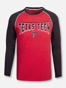 "Texas Tech Red Raiders Double T ""Lasso Lift"" Long Sleeve Raglan T-Shirt"