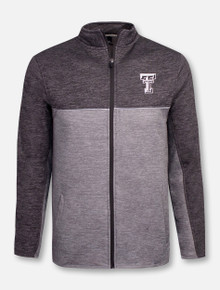 "Texas Tech Red Raiders Double T ""Banked"" Full Zip Fleece Jacket"