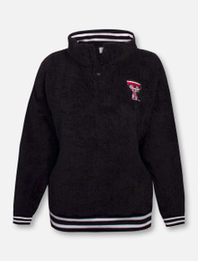 Texas Tech Red Raiders Double T Sherpa Quarter Zip Pullover