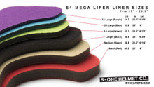 How Liners will size in the Mega Lifer