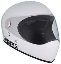 White Gloss W/ Clear Visor   S1 Lifer Full Face Helmet Specs: • Specially formulated EPS Fusion Foam • Certified Multi-Impact (ASTM) • Certified High Impact (CPSC) • 5x More Protective Than Regular Skate Helmets • Deep Fit Design