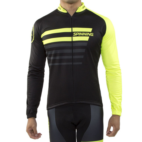 Spinning® Vega Men's Cycling Jacket Yellow