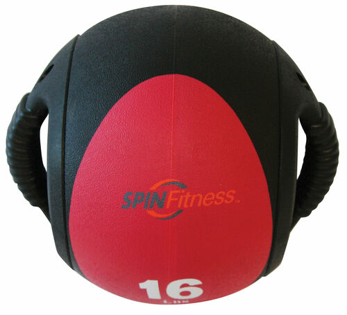 SPIN Fitness® Dual Grip Medicine Ball 16lb