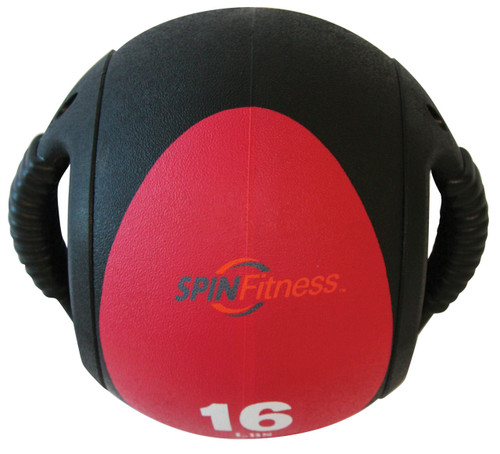 SPIN Fitness® Dual Grip Medicine Ball 16lb