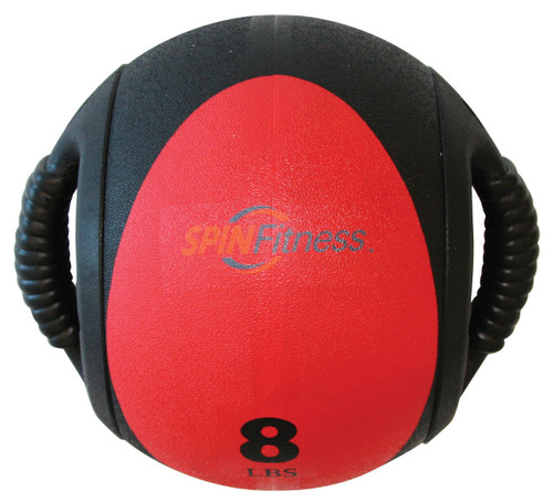 SPIN Fitness® Dual Grip Medicine Ball 8lb