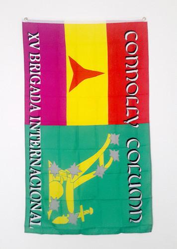 CONNOLLY COLUMN XV BRIGADA INTERNACIONAL FLAG