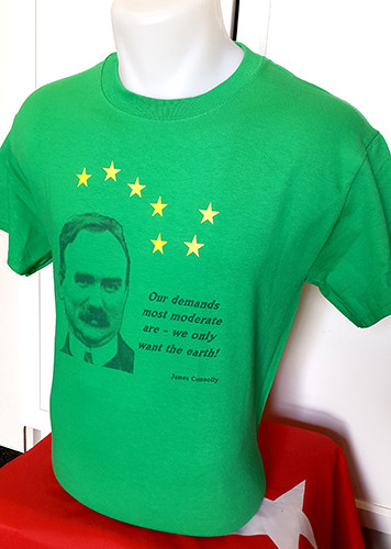 James Connolly Our Demands t-shirt