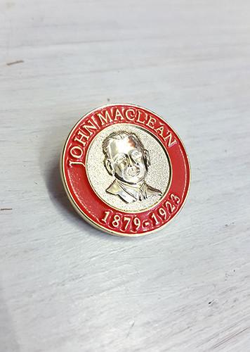 John MacLean 3D enamel badge