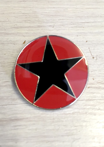 "Anarchist Black Star ""IRPGF"" badge"