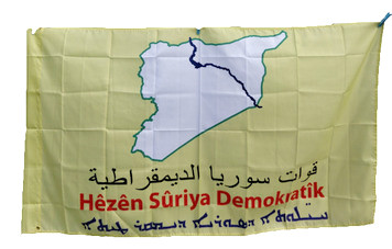 Syrian Democratic Forces (SDF) flag
