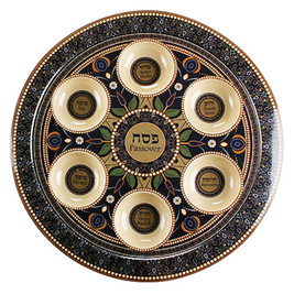 Bamboo Passover Seder Plate