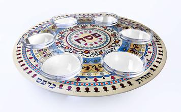 Stainless Steel Seder Plate