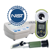 NIST Traceable Refractometer Calibration