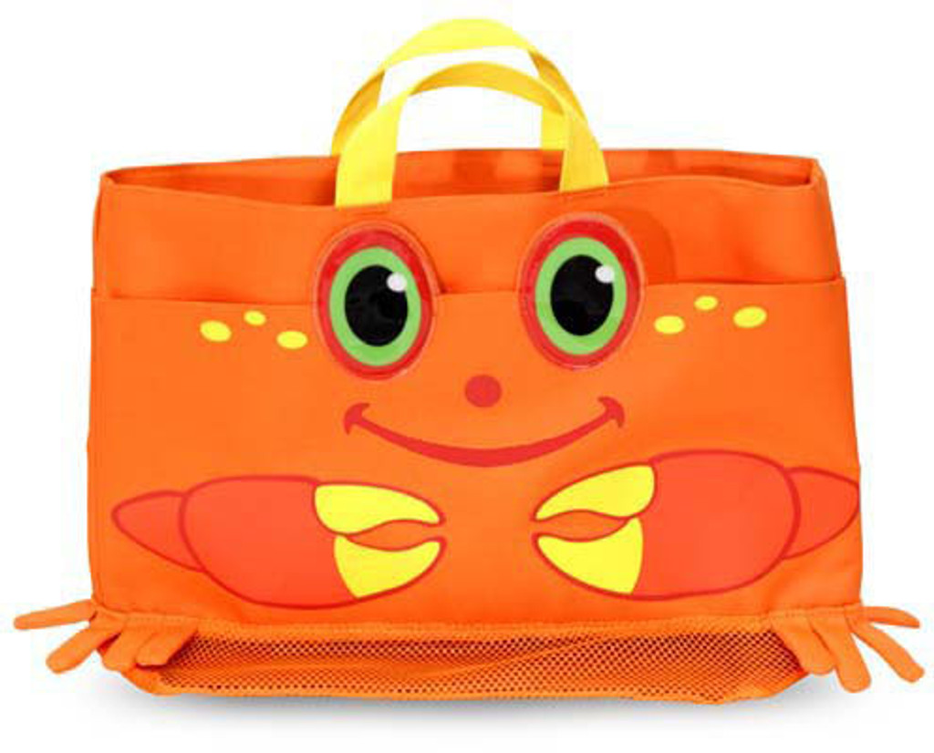 Clicker Crab Kid's Beach Tote Bag