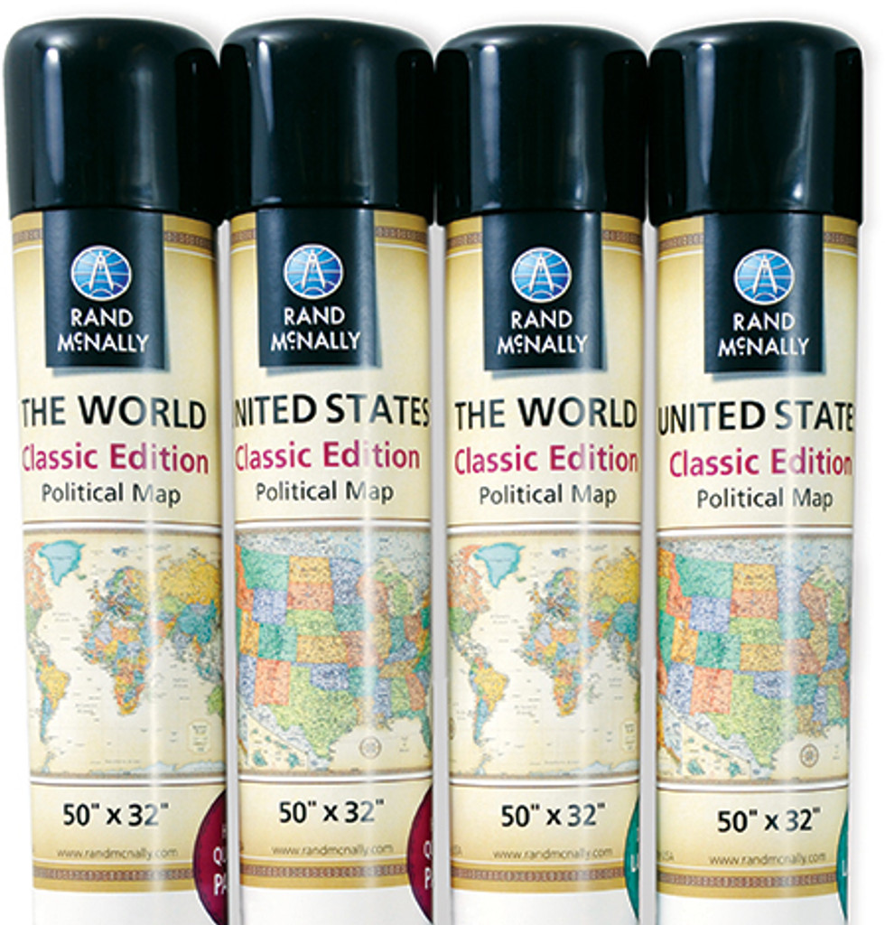 Classic Edition US Wall Maps Rand McNally Store - Rand mcnally us wall map