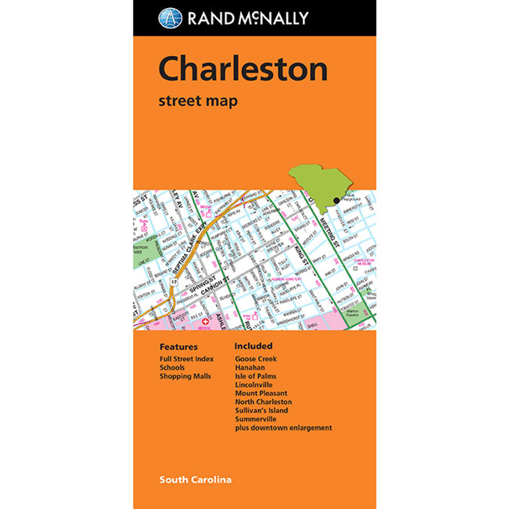 Legends At Charleston Park: Folded Map: Charleston Street Map