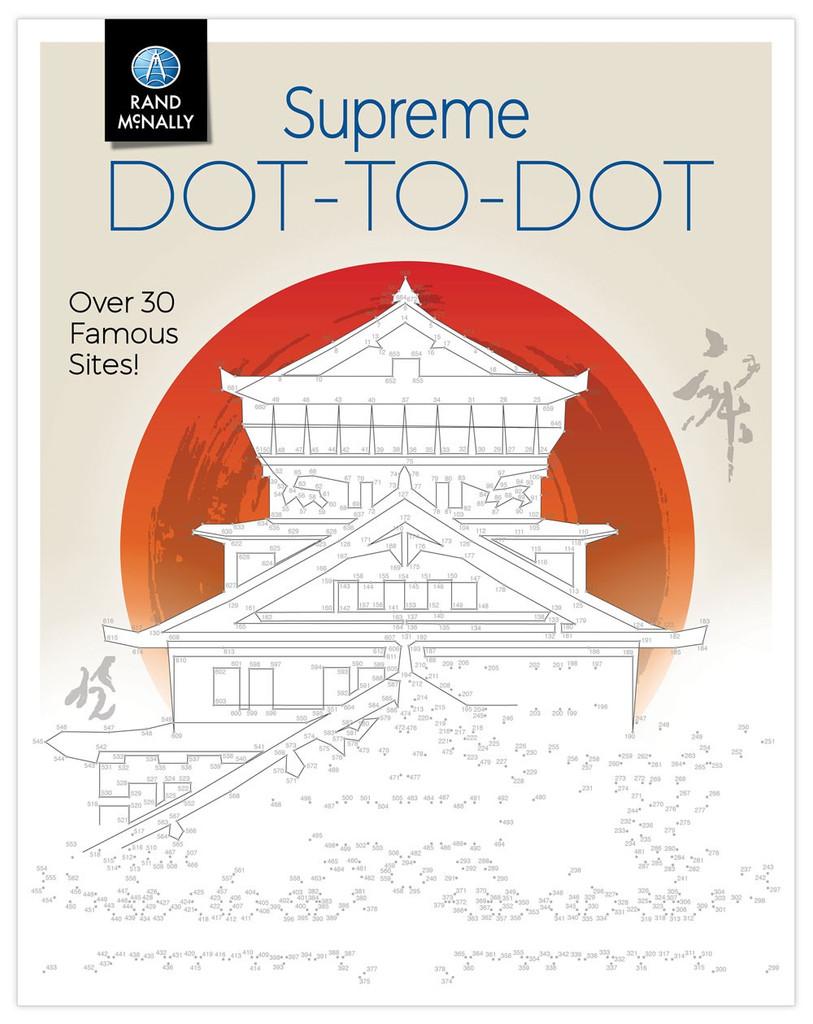 Supreme Dot-to-Dot Book