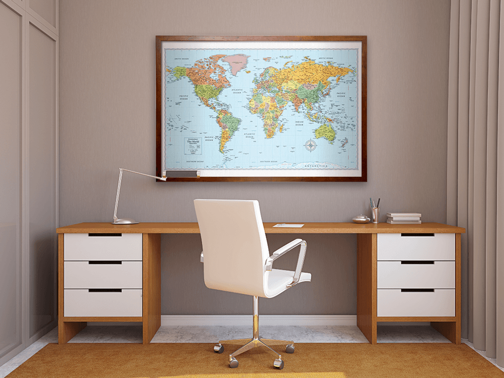 Maps Atlases Wall Maps World Wall Maps Page Rand - Wall maps of the world