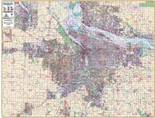 Thomas Bros. Portland Wall Map