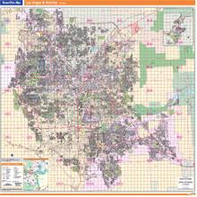 Thomas Bros. Las Vegas Wall Map
