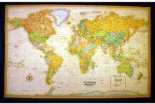 Lightravels Classic Edition Illuminated World Wall Map