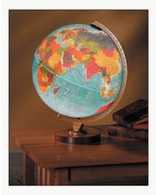 "Livingston 12"" Illuminated Desk Globe"