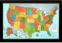 Lightravels Illuminated U.S.A. Map