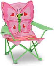 Bella Butterfly Child's Folding Chair