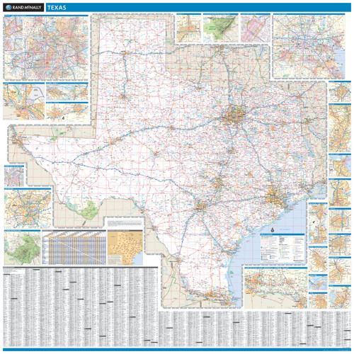 ProSeries Wall Map: Texas State