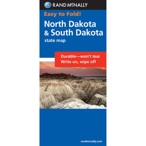 Easy To Fold: North Dakota, South Dakota