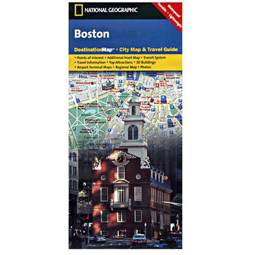 National Geographic Destination Map: Boston
