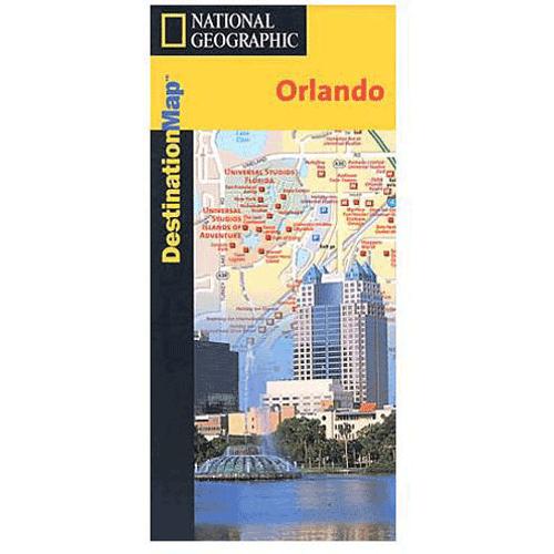 National Geographic Destination Map: Orlando