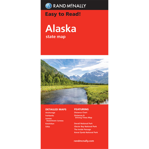 Easy To Read: Alaska State Map