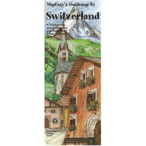 MapEasy's Guidemap: Switzerland