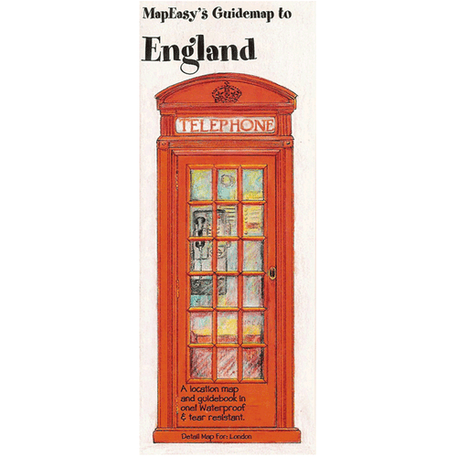 MapEasy's Guidemap: England