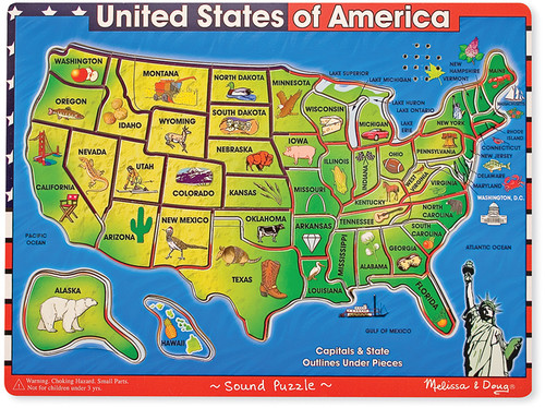 USA License Plate Game Rand McNally Store - Us map license plate puzzle