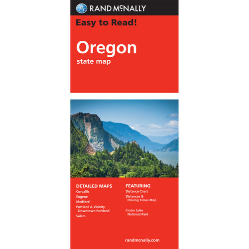Easy To Read: Oregon State Map